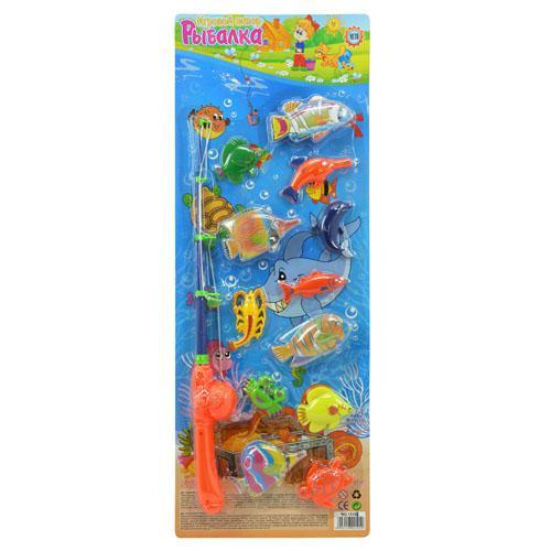 детские удочки и рыбки на магнитах
